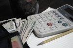 ołówek i kalkulator