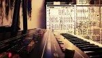 keyboard w studiu nagrań